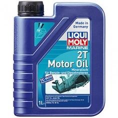 Минеральное моторное масло для водной техники liqui moly marine 2t motor oil 1л 25019
