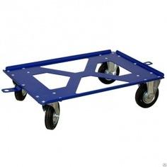 Тележка rusklad 400х600мм колеса d125мм скейт 125