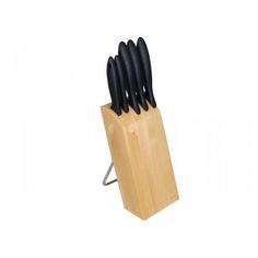 Набор из 5 ножей в блоке fiskars essential 1023782