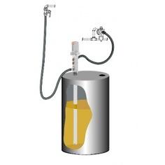 Комплект для откачки масла из бочки 205 л с насосом pm2 samoa k-3/l drum mounted pump kit 379300