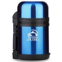 Универсальный термос для еды и напитков арктика 0.8 л, синий 202-800