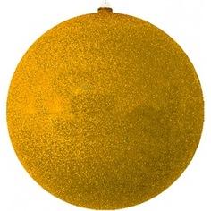 Елочная фигура neon-night шар с блестками 25 см, золотая 502-141