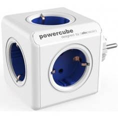 Сетевой удлинитель allocacoc powercube original blue 1100bl/deorpc