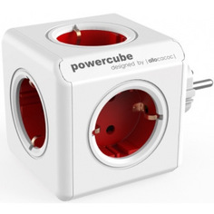 Сетевой удлинитель allocacoc powercube original red 1100rd/deorpc