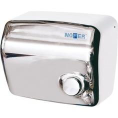Сушилка для рук nofer kai c кнопкой 1500 w глянцевая 01250.b