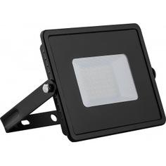 Светодиодный прожектор 2835 smd 50w 6400k ip65 ac220v/50hz, черный feron ll-921 32102