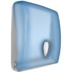 Диспенсер для бумажных полотенец nofer синий 04020.т