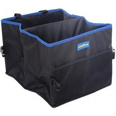 Складной органайзер в багажник, 2 секции goodyear gy001002