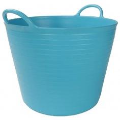 Корзина пластиковая голубая №1 rubi 25л 88702