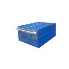 Пластиковый короб стелла с-501-а синий/прозрачный (212х328х126)