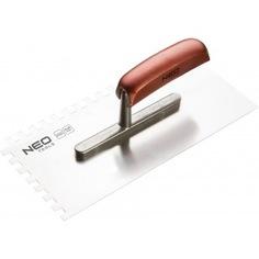 Терка с зубьями neo 8x8x8 мм, 280x130 мм 50-024