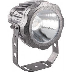 Светодиодный прожектор feron ll-886 d90xh115, ip65, 10w, 85-265v,зеленый 32238