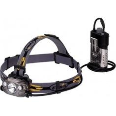 Светодиодный налобный фонарь fenix серый, 1000 лм hp30rgrey