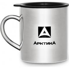 Стальная термокружка арктика 0.45 л, полированная 801-450