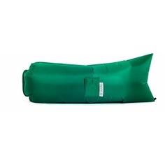 Надувной диван биван классический, цвет зеленый bvn18-cls-grn