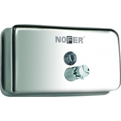 Диспенсер для мыла nofer матовый 1200 мл горизонтальный 03002.s