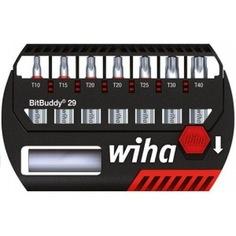 Бит-органайзер torx 8шт wiha bitbuddy 29 36920