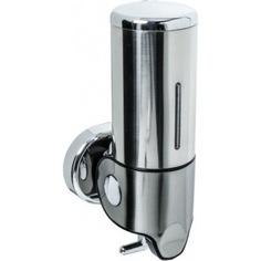 Дозатор для жидкого мыла настенный 0,5 л fixsen нotel 31012a