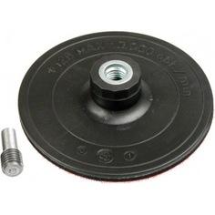 Тарелка полировальная на липучке (125 мм; m14+ хвостовик) verto 61h740