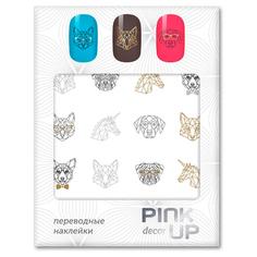 Наклейки для ногтей переводные PINK UP NAIL DESIGN тон 579