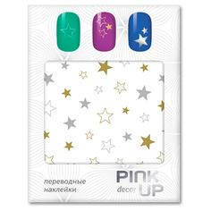 Наклейки для ногтей переводные PINK UP NAIL DESIGN тон 581
