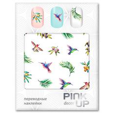 Наклейки для ногтей переводные PINK UP NAIL DESIGN тон 582