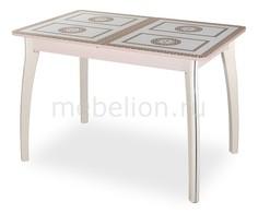 Стол обеденный Гамма ПР-1 со стеклом Домотека