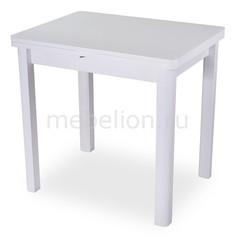 Стол обеденный Чинзано М-2 со стеклом Домотека