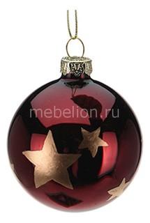 Елочный шар Burgundy 320479 ОГОГО Обстановочка