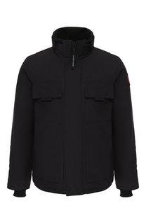 Пуховая куртка Forester на молнии с воротником-стойкой Canada Goose