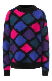 Кашемировый пуловер с вышитым принтом Marc Jacobs