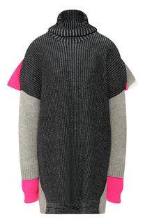 Шерстяной пуловер свободного кроя Balenciaga