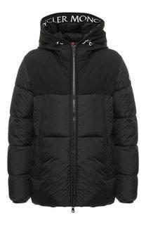 Пуховая куртка Montclar на молнии с капюшоном Moncler