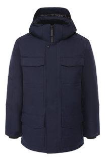 Пуховая куртка Windermere на молнии с капюшоном Canada Goose