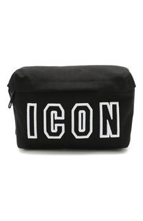 Текстильная поясная сумка Icon Dsquared2