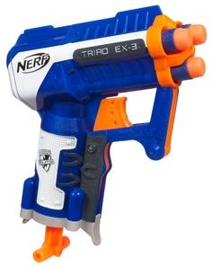Игрушечное оружие и бластеры Nerf Элит Триад, 1шт.