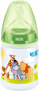 Бутылочка Nuk с силиконовой соской First Choice Plus с рождения 150 мл, 1шт.