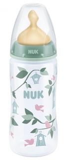 Бутылочка для кормления Nuk First Choice Plus с силиконовой соской 0+, 300 мл., 1шт.