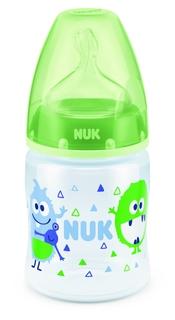 Бутылочка для кормления Nuk First Choice Plus с силиконовой соской М 0+, 150 мл., 1шт.