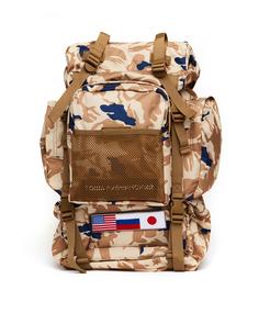Рюкзак с милитари принтом и нашивками Gosha Rubchinskiy