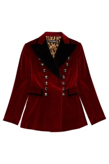 Бархатный жакет с аппликацией Dolce&;Gabbana