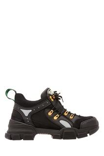 Черные кроссовки Gucci