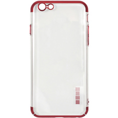 Чехол InterStep DECOR ADV iPhone 6/6S красный