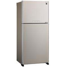 Холодильник с верхней морозильной камерой Широкий Sharp