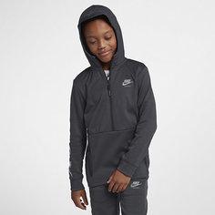 Худи с молнией на половину длины для мальчиков школьного возраста Nike Air Max