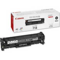 Картридж Canon 718Bk black (2662B002)