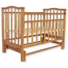 Кроватка Агат Золушка 3 орех 52101