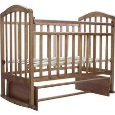Кроватка Антел Алита-3 маятник/качалка орех