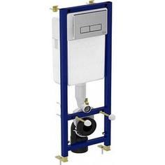 Инсталляция Ideal Standard для унитаза 2ой смыв хром (W3710AA)