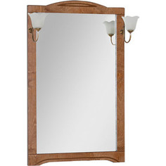 Зеркало Aquanet Луис 70 темный орех, без светильника (173215)